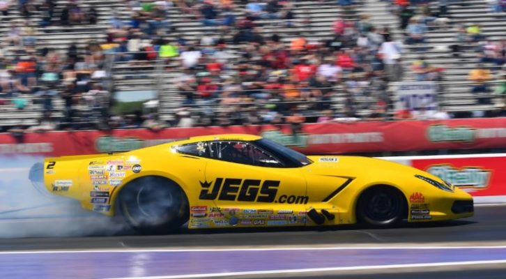NHRA J&A SERVICE PRO MOD DRAG RACING SERIES STANDOUT TROY COUGHLIN HOPES TO BREAK THROUGH AT CHEVROLET PERFORMANCE U.S. NATIONALS