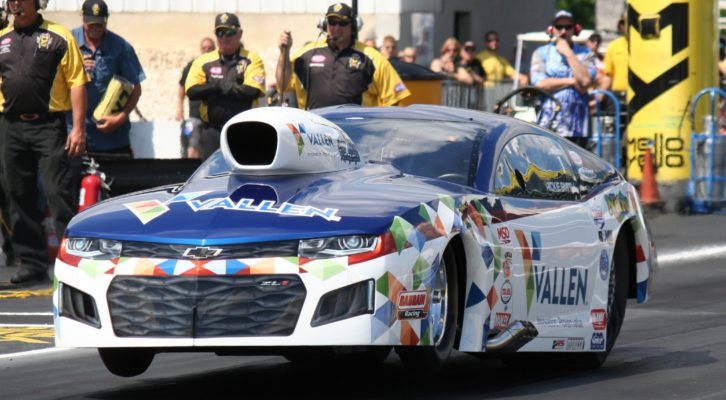 REIGNING NHRA J&A SERVICE PRO MOD DRAG RACING SERIES CHAMP RICKIE SMITH LOVES RACING AT BRISTOL DRAGWAY FOR NHRA THUNDER VALLEY NATIONALS