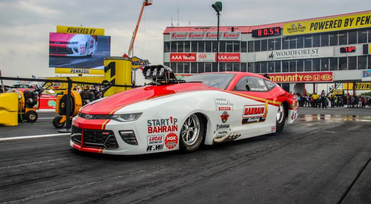 """STEVIE """"FAST"""" JACKSON CLOSES IN ON FIRST WORLD TITLE AS E3 SPARK PLUGS NHRA PRO MOD ACTION HEADS TO CHARLOTTE"""